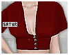 Red Diana Top