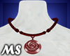 MS Lady Necklace Red