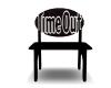 Black TimeOut Chair