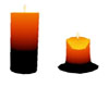 s~n~d melt orange candle