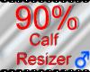 *M* Calf Resizer 90%