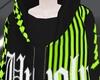 N! Unholy Hoodie - Neon