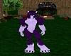 Purple Tiger Furkini V1