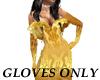 BR) Golden lotus gloves
