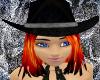 Midnight Cowgirl Hat FL3