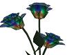 multi color glass rose