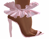 Pink Ruffle Shoes