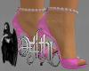 romance pink heels