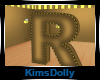 *KD* Bee Room Letter R