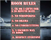 Room Rules