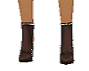 Drk brown ankle boots