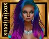 [L] CRAZY Pink Aqua Hair