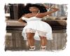 white bohodress