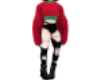 [CJ] Red/GreenOutfit-M