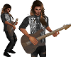 T Animated Guitar Player