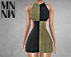 2Tone Halter Dress