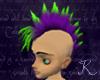 Mohawk Purple Green F