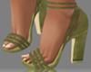 👡Aisha Green Heels