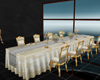 ^ z Wedding Table dorado