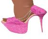 2A-Sassy Pink Heels