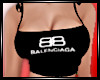 BALENCiAGA BLACK TOP