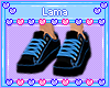 Kids Blue Sneakers