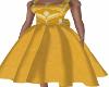 SA--Mustard Bow Dress