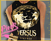 <P>Black Versace Top