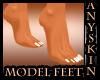 ASP)Model Manicured Feet
