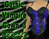 Gothic Vampire Gown 3