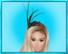 Green Feather Bonnet