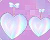 . fuzzy holo heart