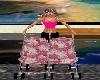 Twin Girl's Stroller