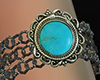 Turquoise arm bracelet