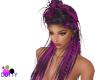 purple wild braid