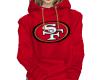 SF 49ers Red Hoody