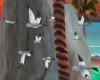 Flying seagull's