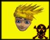 Yellow Kakashi Hair