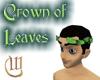 Crown of Leaves - Green