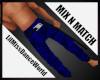 Mix N Match Blue Cargo M