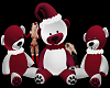 Santa Bear Poses Group