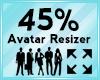 Avatar Scaler 45%