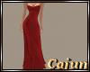 Crimson Delite Gown