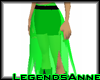 Witchy Skirt - Toxic/Bl