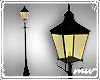 !Street lamp candlelit