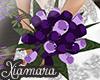 [X] Purple Wedding Boque