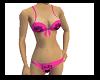 tb hot pink bikinis