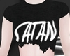 Ripped T-Shirt - Satan