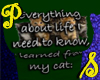 Everything Cat - Green