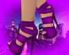 *Q* Purple Ribbon Heels